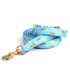 Blue Paisley High Fashion Horse Lead