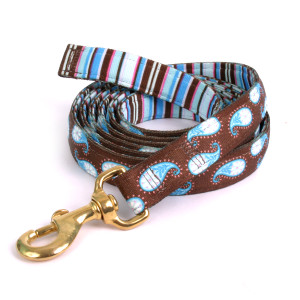 Brown Paisley High Fashion Horse Lead