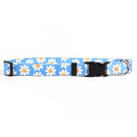Blue Daisy Horse Neck Collar