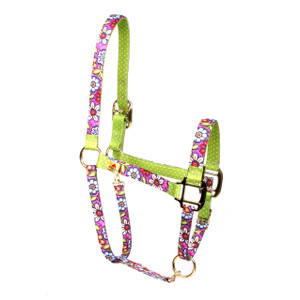 Pink Garden High Fashion Halter