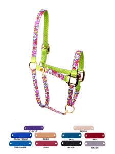 Personalized Name Plate Pink Garden High Fashion Halter