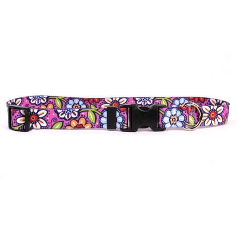 Pink Garden Horse Neck Collar