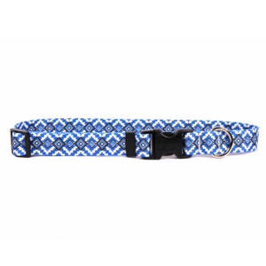 Aztec Blue Horse Neck Collar