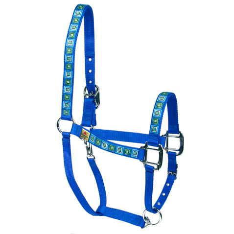 Blue Blocks Equine Elite Halter