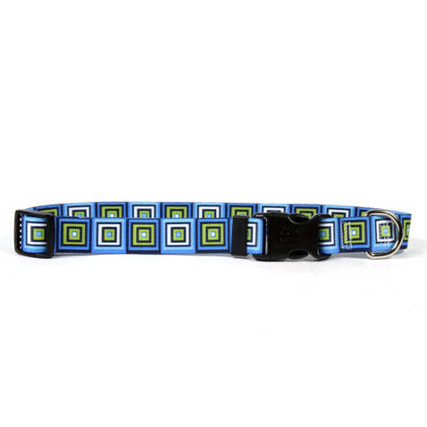 Blue Blocks Horse Neck Collar