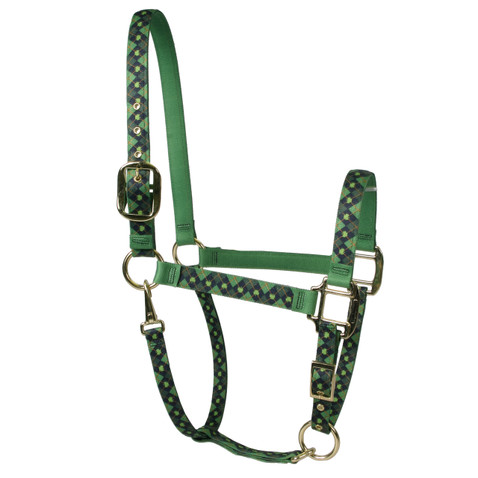 Irish Argyle High Fashion Large Horse Halter