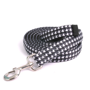 Houndstooth Black and White Equine Elite Horse Lead