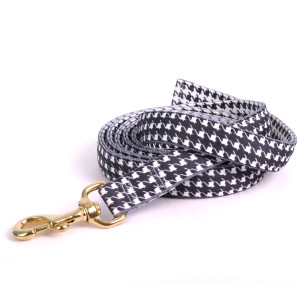 Houndstooth Black and White High Fashion Horse Lead