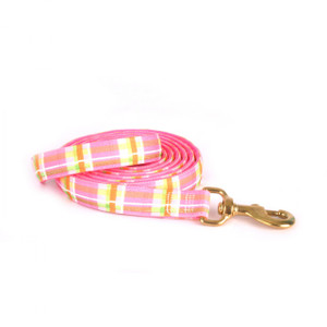 Madras Pink High Fashion Horse Lead