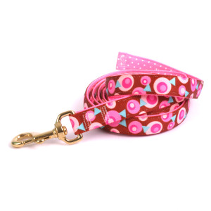 Metro Pink and Brown High Fashion Horse Lead