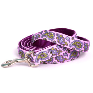Purple Paisley Equine Elite Horse Lead