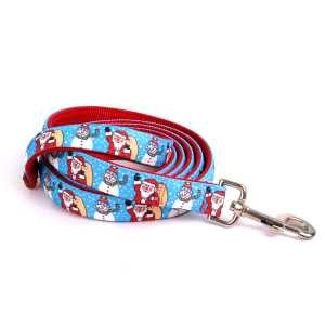 Santa and Snowman Equine Elite Horse Lead