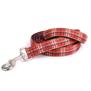Tartan Red Equine Elite Horse Lead
