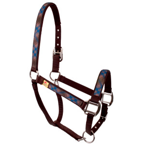 Brown Kilt Equine Elite Halter