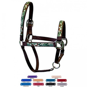 Personalized Name Plate Camo Equine Elite Halter