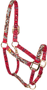 Retro Cowboy High Fashion Horse Halter