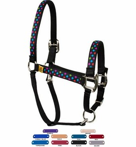 Personalized Name Plate Gumballs Equine Elite Halter