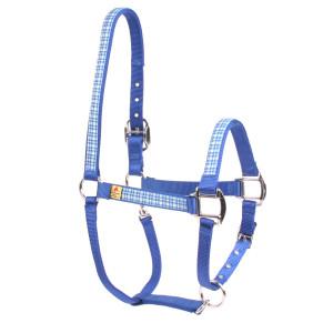 Preppy Boy Plaid Equine Elite Horse Halter