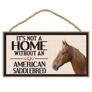 American Saddlebread Wood Sign