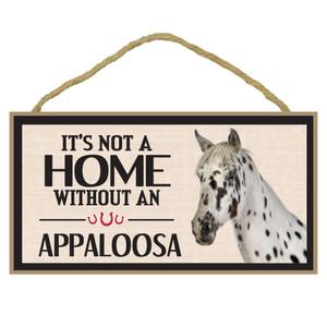 Appaloosa Wood Sign