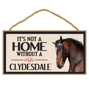 Clydesdale Wood Sign