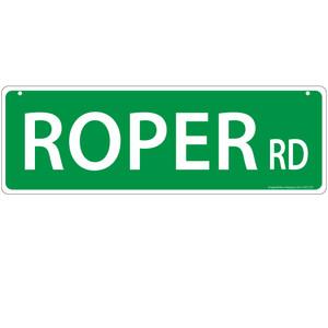 Roper Horse Street Sign