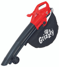 Grizzly ELS2614-2E Electric Leaf Blower & Vacuum 2600W