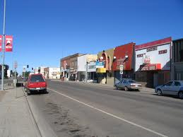 Downtown Wolf Point, Montana