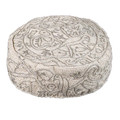 Silver Hand-Embroidered Oriental Hat