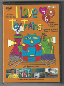 I Love Toy Trains DVD Parts (4-6) Front