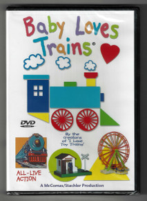 Baby Loves Trains DVD Front Cover