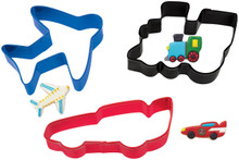 3 pc. Transportation Cookie Cutter Set