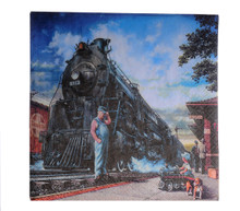 Whistle Stop Train Party Beverage Napkins
