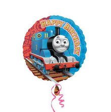 Ride-on Thomas Train Foil Balloon
