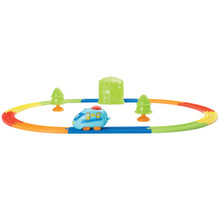 Rev N' Rails Friction Powered Train Play Set