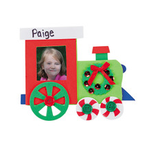 Christmas Train Photo Frame Magnet Craft Kit