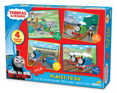 Thomas & Friends Places To Go! Puzzles