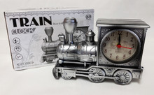 Steam Locomotive Engine Shaped Alarm Clock