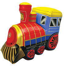Soft Train Vinyl Toy