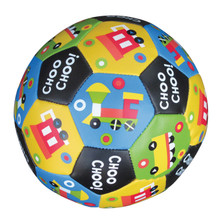 Soft Vinyl Train Imprint Soccer Ball