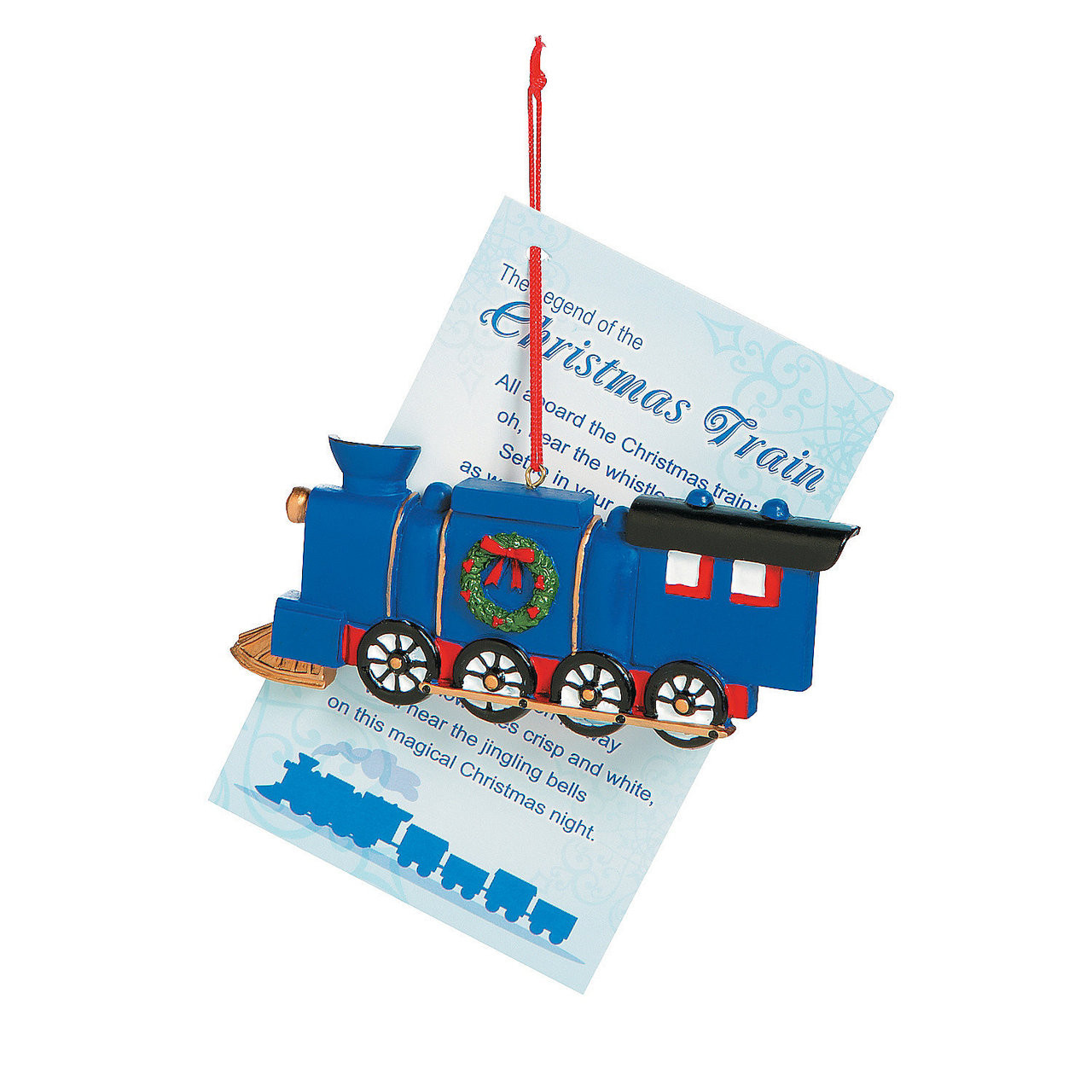 Chuggington Wall Stickers Legend Of The Christmas Train Ornaments