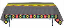 Railroad Crossing Train Party Table Cover