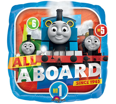 Thomas & Friends All Aboard Party Foil Balloon