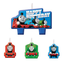 Thomas and Friends Birthday Candle 4-pc Set