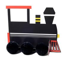 Railroad Centerpiece Decor