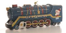 Santa Express  Steam Train Ornament