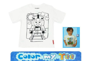 Color My Tee Thomas Train T-Shirt - LG (6/8)