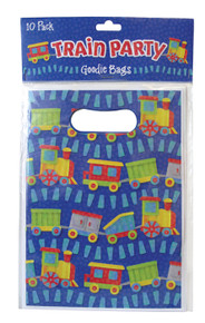 Train Party Gift Favor Bags (10 pcs)
