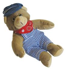 Train Engineer Teddy Bear