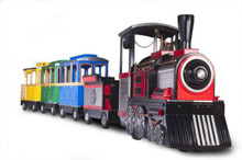 Trackless Train Providers Banner Advertising